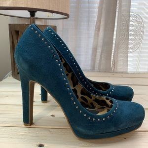 Jessica Simpson suede studded pumps NEW Womans 9.5